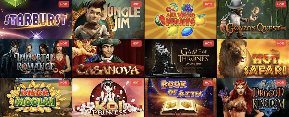 GoldenStar Casino Games