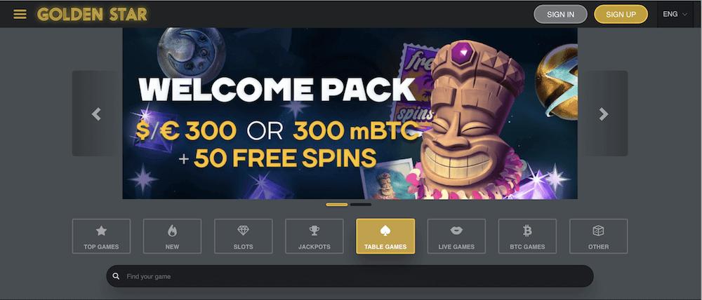 GoldenStar Casino Review