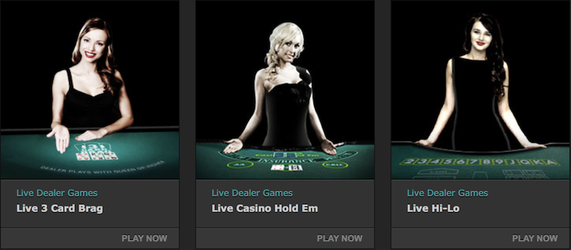 bet365 live casino dealers
