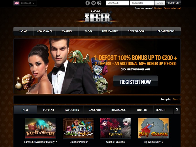 Casino Sieger Casino Review