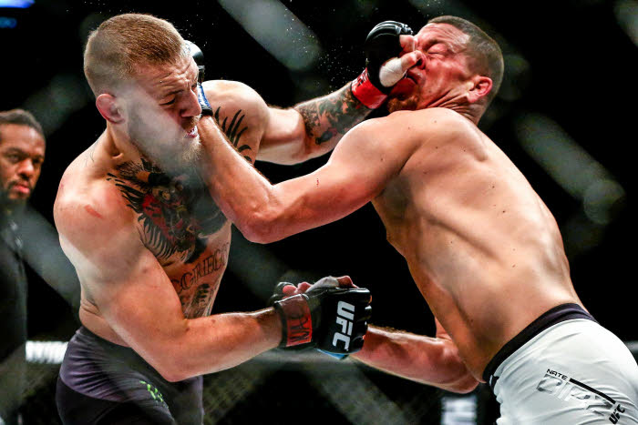 conor mcgregor vs nate diaz betting odds