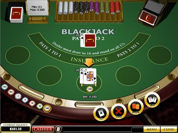 1. Casino Card Games With Best Odds – Blackjack or 21