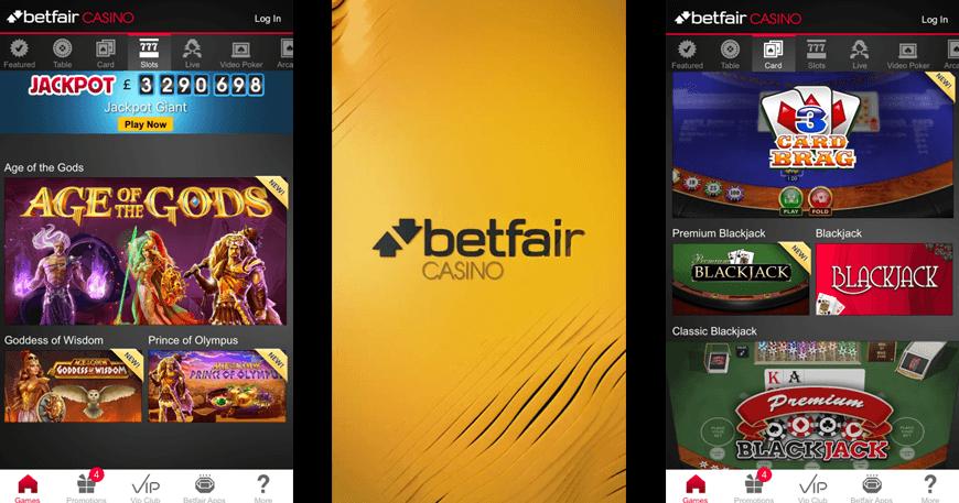 betfair online casino app
