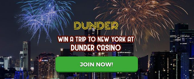 win a trip to new york for new year 2017 with dunder casino
