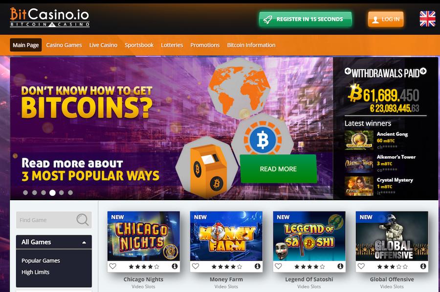 bitcasino bitcoin gambling