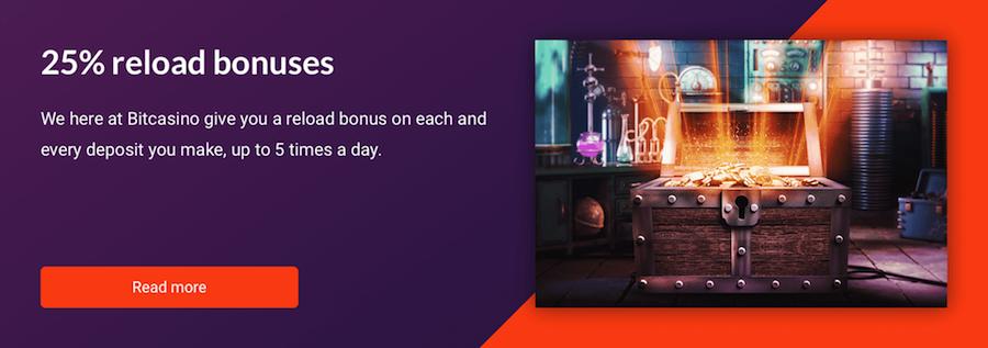 bitcasino bonus