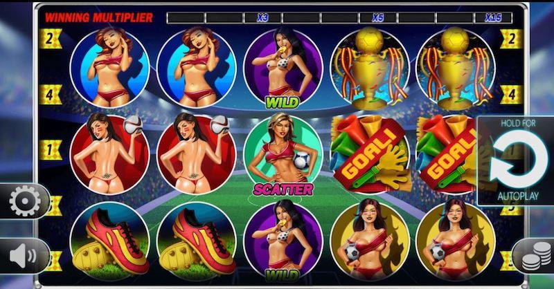 Soccer Babes Slot Machine