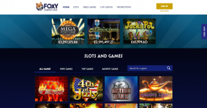 foxy casino Slots and games