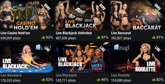 pornhub casino online games